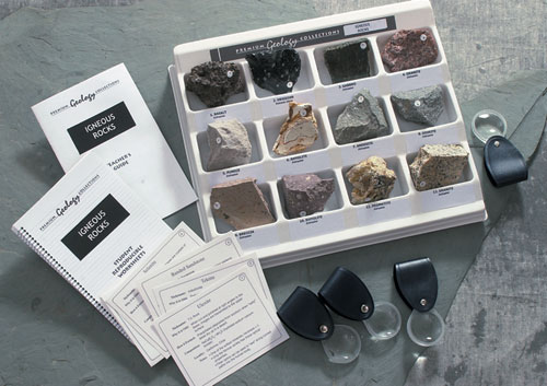 Hubbard Scientific 2860 Prem Geology Collection Act-Igneous