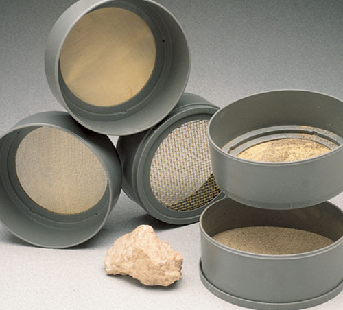 Hubbard Scientific 3070-6 Screen Sieves Kit  Set of 6