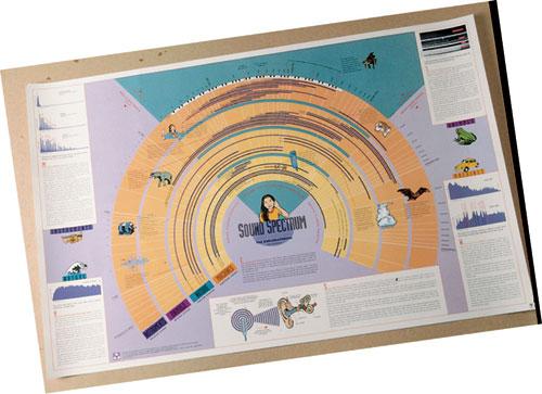 Hubbard Scientific 4101 Sound Spectrum Chart
