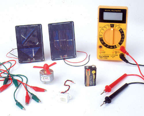 Hubbard Scientific 4740 Compositionrehensive Solar Electricity Kit