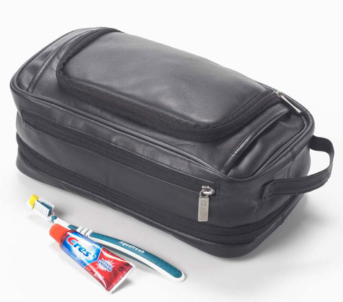 Clava 109 Expandable Toiletry Case - Quinley Black