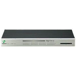 Digi CM 32 Console Server 32 x RJ-45 Serial Management  1 x RJ-45 Console   1 x RJ-45 10-100Base-TX 10Mbps  100Mbps Console Server 70001908