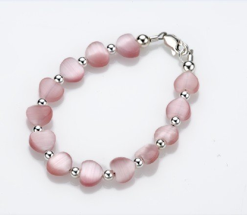 My Little Jewel  A5XS Sweetheart Bracelet - X-Small - 0-3 Months - 4 Inches