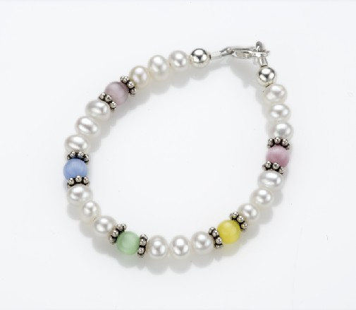 My Little Jewel  P6M Gumball Designer Bracelet - Medium - 9-24 Months - 5 Inches