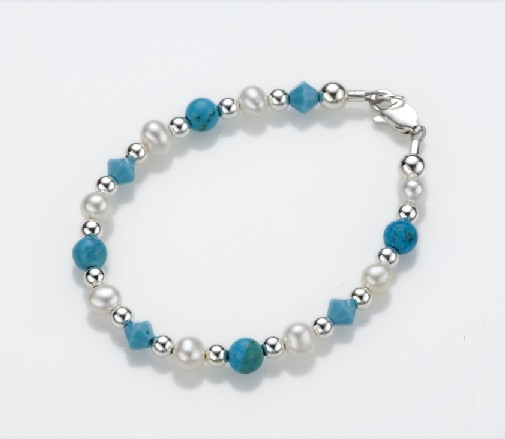 My Little Jewel  T1L Soft Sea Breeze Bracelet - Large - 2-5 Years - 5.5 Inches