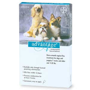 Image of Advantage TEAL-20-4 Advantage - For Dogs And Puppies 11-20 Lb