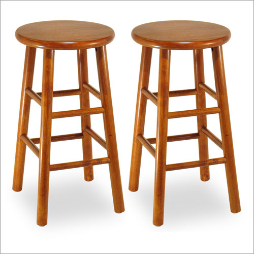 Winsome 75284 24  Backless Bevel Seat Counter Stool (Set of 2)