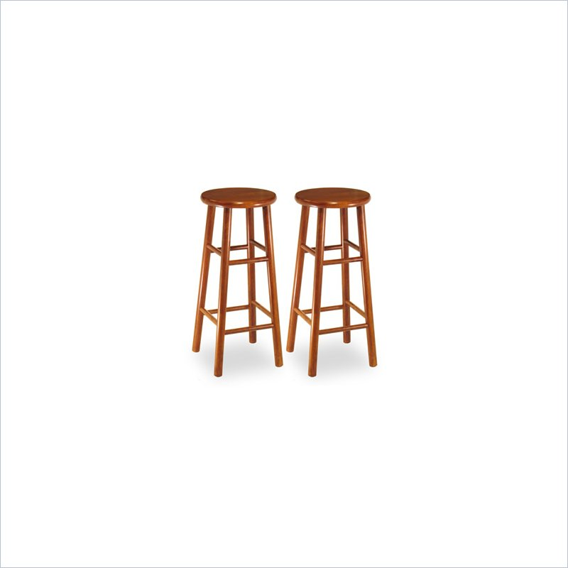 Winsome 75280 30  Backless Bevel Seat Barstool