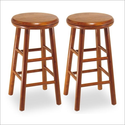 Winsome 75234 24  Backless Swivel Counter Stool (Set of 2)