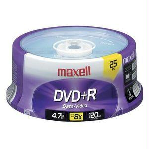 MAXELL CORPORATION OF AMERICA 639011 Maxell DVD+R Spindle 634050- 4 Packs of 25 each