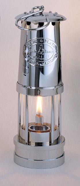 Weems & Plath 900 Chrome Oil Yacht Lamp