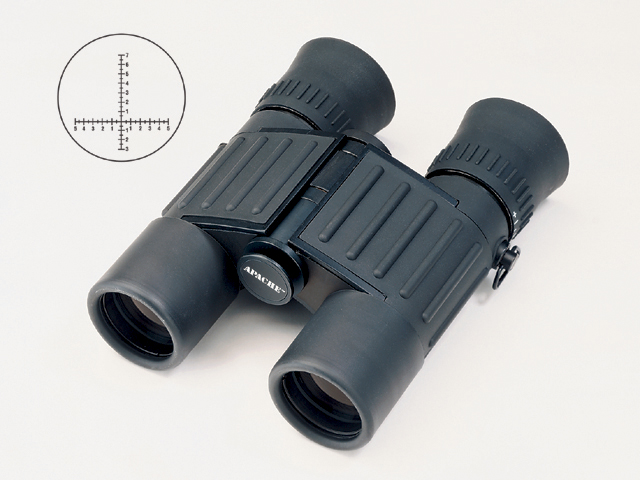 Weems and Plath BN29 7x28 Apache Military Binocular with M-22 reticle