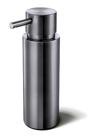 Zack 40308 MANOLA Free Standing Liquid Dispenser with Metal Pump  6.5 inches high- Stainless Steal ZCK019