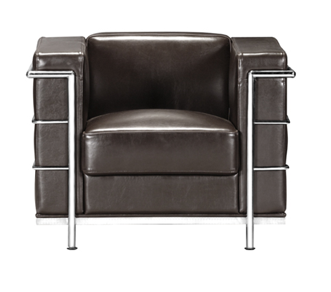 Zuo 900222 FORTRESS ARM CHAIR ESPRESSO