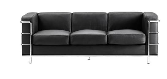 Zuo Sofas 900230 Fortress Sofa Black