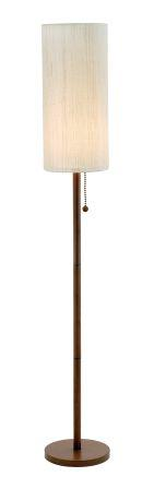 Adesso 3338 Hamptons Floor Lamp - Walnut-15