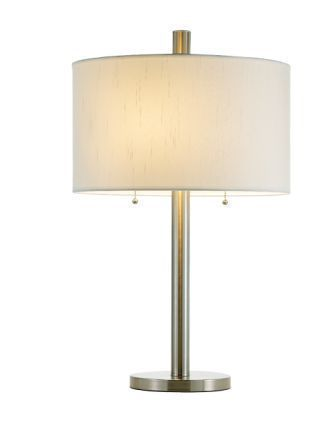 Adesso 4066 Boulevard Table Lamp - Satin Steel-22