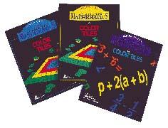 Scott Resources SR-1210 Communicating Math Guide for Color Tiles Intermediate