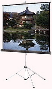 Da-Lite Picture King Portable and Tripod Projection Screen - 45    x 80    - Matte White - 92    Diagonal - HDTV