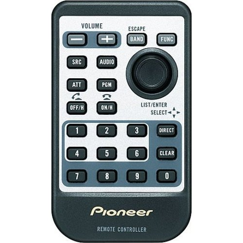 Pioneer Car CD-R510 Wireless Remote Control for your 2007-up Pioneer CD receiver