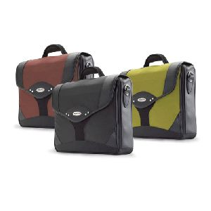 Mobile Edge Select Briefcase - Top Loading - Ballistic Nylon - Yellow  Black - Notebook Case