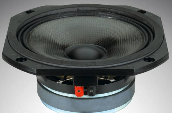 RCF USA INC L8S800 8-In 340 Watt Woofer with carbon fibre cone