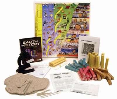 Hubbard Scientific 198 Exploring the Earth's History Teacher's Guide