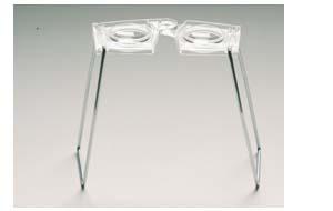 Hubbard Scientific 576 Stereo Glasses Stereoscopes Set of 10 AMED381