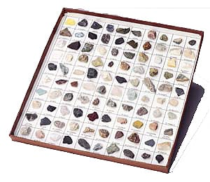 Hubbard Scientific 2100 Rocks and Minerals of the U.S. Collection  100 pcs.