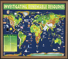 Hubbard Scientific 2566 Investigating Renewable Resources Chart
