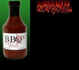 BBQ Stu s 57844-10001 20 oz. Original Barbecue Sauce - 6 Pack