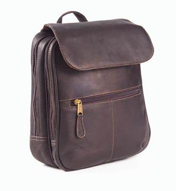 Clava 202 Flap Organizer Backpack - Vachetta Cafe