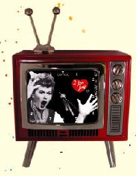 Centric HMCTV4F2L Lucy Shocked TV Mini-Clock