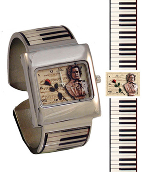 Centric HWBAPNO Beethoven Piano Bangle Watch