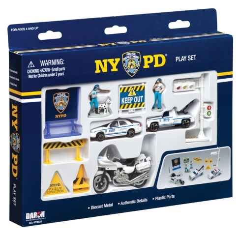 Daron Worldwide Trading RT8620 NYPD 14 Piece