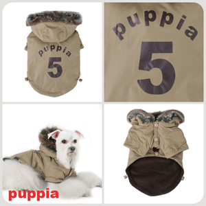 Ski Apparel - Puppia PUM03BEMD Apparel - Ski Jumper BEIGE Medium