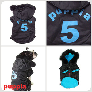 Ski Apparel - Puppia PUM03BKMD Apparel - Ski Jumper Black Medium