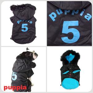Ski Apparel - Puppia PUM03BKMD Apparel - Ski Jumper Black Medium