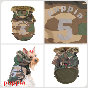 Ski Apparel - Puppia PUM03CASM Apparel - Ski Jumper Camo Small