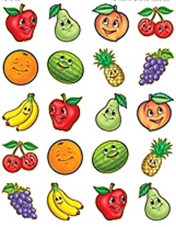 Teacher Created Resources TCR5755 Fruits Stickers - 120 Stickers