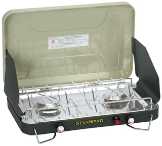 Stansport 203 Two Burner Propane Stove