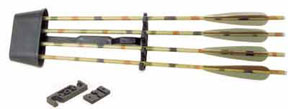 Barnett 17044 Quick Detach Quiver with Arrows