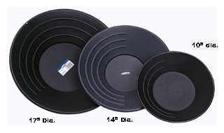 """Stansport 607 14"""" Professional Gold Pans"""