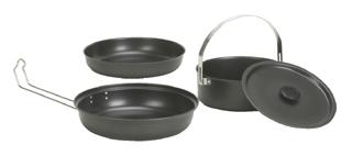 Stansport 360-20 Black Granite Mess Kit