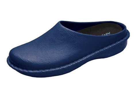 AnyWears ANYWEARLX-NVY01-ML Women s Injected Clog - Navy - Size M/L - 8/9