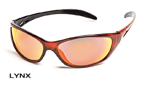 Body Specs LYNX-CRYSTAL RED.6 Extreme Lynx Sunglasses with Crystal Red Frame and Crimson Red Mirror Lens BDYS046