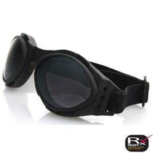 Zan Headgear BA2C31AC Bugeye 2 Goggle  Interchangeable  Black Frame  3 Lenses