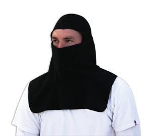 Zan Headgear WB114S Balaclava  Fleece  Spandex Crown  Black BLB356
