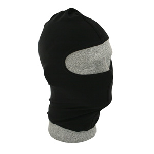 Zan Headgear WBN114 Balaclava  Nylon  Black BLB361