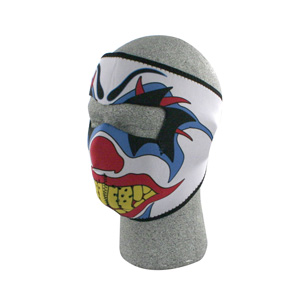 Zan Headgear WNFM005 Neoprene Face Mask  Clown BLB387